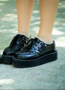 verhoogde schoenen
